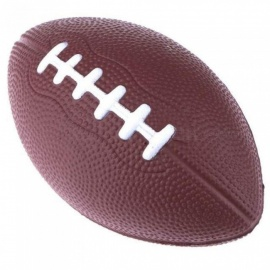 Football & Rugby Soft Standard PU Foam American Football Soccer Ball Rugby Squeeze Ball Kids Adults Toys Brown