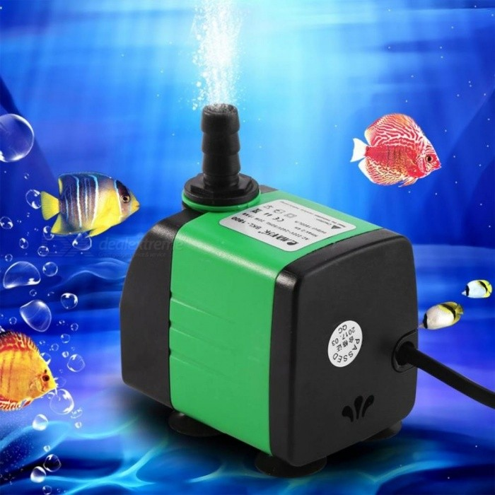 WALFRONT AC 220-240V ABS Submersible Pump Fish Tank Aquarium Pond Fountain Water Pump 5 Types Electric Submersible Water Pump