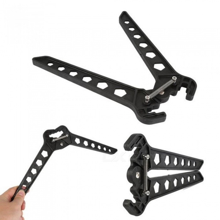 Compound Bow Stand Holder Nylon Archery Recurve Bow Kickstand Holder Hunting Arrow Stand Holder For 1 PCS