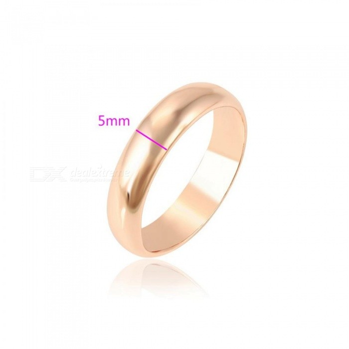 Fashion Elegant Rings Rose Gold Color Plated Exquisite Ring Women Wedding Jewelry Christmas Gift S33-11000