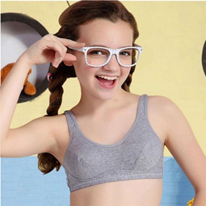 41a786781e6 Training Bra Kids Girls Soft Touch Cotton Underwear Sports Kids Vest Bra  for Teens Child Student