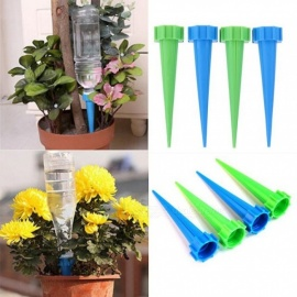 Indoor Automatic Watering Irrigation Kits System Houseplant Spikes For Plant Potted Flower Energy Saving Environmental 4PCS/Lot Random