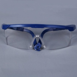 Protective Goggles Safety Glasses Welding Glasses Green Eyewear Adjustable Work Light Proof Glasses With Blue Color Blue