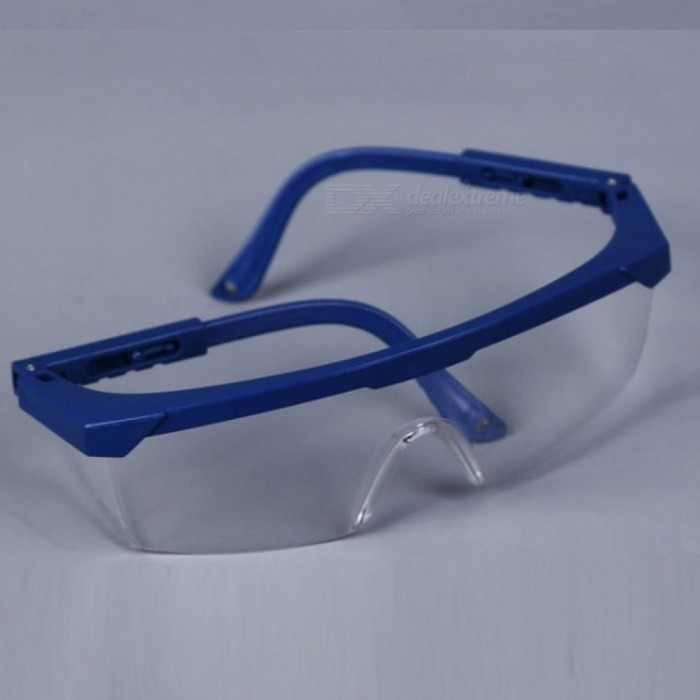 Protective Goggles Safety Glasses Welding Glasses Green Eyewear Adjustable Work Light Proof Glasses With Blue Color