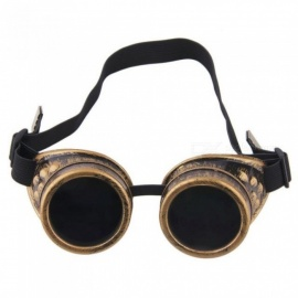 Steampunk Glasses Vintage Retro Welding Punk Gothic Sunglasses Fashion Retro Steampunk Cyber Goggles Glasses  Copper