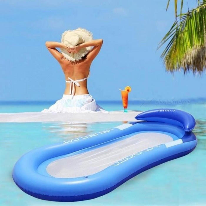 outdoor water hammock single people increase inflatable beach