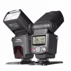 Voking VK430 I-TTL LCD Display Blitz Speedlight Flash for Nikon D5500 D5300 D3300 D7200 D3400 D5300 D500 D7500 D750 D5600  Black
