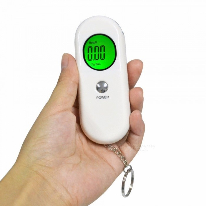 Mini Detector Lcd Display Prefessional Breath Alcohol Tester High Accuracy Breathalyzer Blow Test For Drivers Alcohol Tester