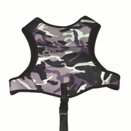 Spearfishing Hunting Vest Womens Mens Camouflage 3mm Neoprene Diving Gear Weight Drop Vest Diving Belt M/Multi