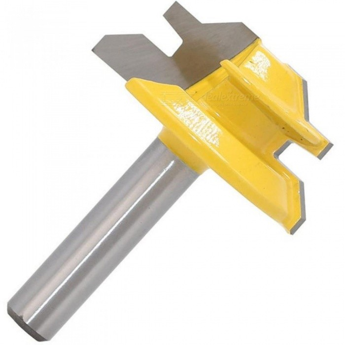 how to use a 45 degree router bit