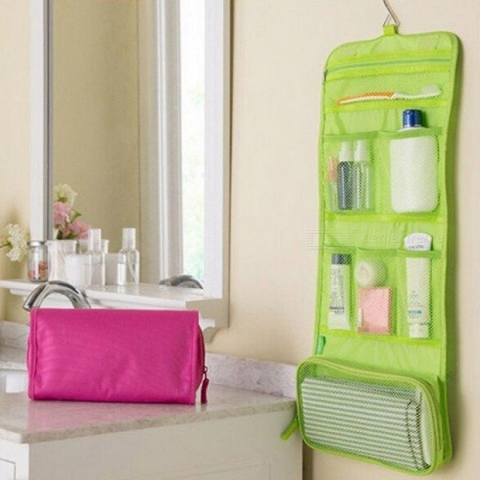 Portable Organizer Bag Foldable Travel Makeup Portable Traveling Bag Toiletry Bags Wash Bag Bathroom Accessories