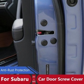 12 Pcs Set Car Door Styling Screw Protective Cover Waterproof Door Screws Sticker For Subaru Forester  Outback XV Legacy Impreza For Subaru 12pcs set