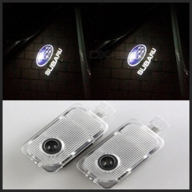 Car LED Logo Light Door Laser Welcome Projector Lights Welcome lIghts for Subaru Forester Legacy Outback Impreza Tribeca XV 2PCS For Subaru Logo