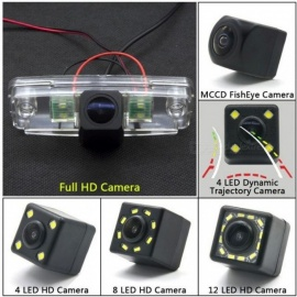 Car Full HD 1280*720 Backup Rear View Camera For Subaru Forester Outback 2008 2009 2010 2011 2012 Impreza Sedan Legacy 2 Car 4 LED/Camera Only
