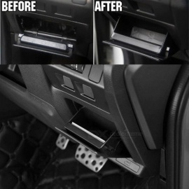 OE Style Fuse Coin Box Bin For Subaru XV Forester 2013-2017 Impreza 2014 Outback Legacy WRX STi Armrest Storage Box Tray Holder Black