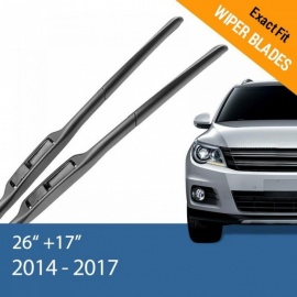 "MKS Wiper Blades for Subaru Forester 24""& 18""/26""& 17"" Fit Hook Arms 2009 2010 2011 2012 2013 2014 2015 2016 2017 2009 - 2013/Front Wipers Only"