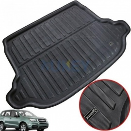 For Subaru Forester SJ 2014 - 2018 Boot Cargo Liner Rear Trunk Floor Mat Tray Carpet Pad Protector Mud Kick 2015 2016 2017 Black