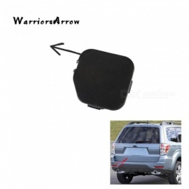 Warriors Arrow Rear Bumper Tow Eye Hook Cap Cover Primed Unpainted For Subaru Forester 2009 2010 2011 2012 2013 57731SC050 Black