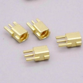 Female Plug Connector Earphone Adapter Pin For Shure SE535 SE425 SE315 SE215 Earphone With Gold Color 2pcs