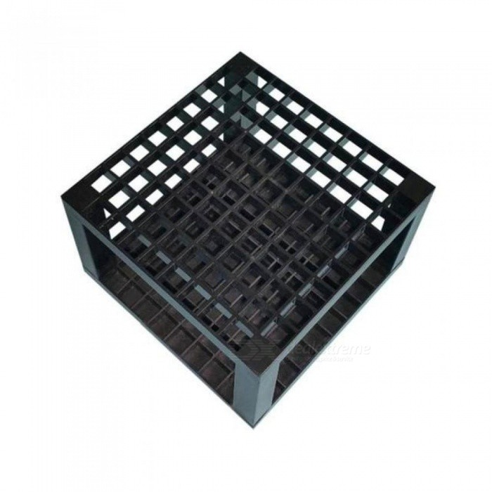 96 Hole Plastic Pencil and Brush Holder, Desk Stand Organizer Holder for Drawing Black Color For 1PCS