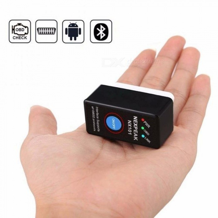 Mini OBD2 Eml327 V1.5 Bluetooth Adaptor Car Auto Diagnostic Scanner For Android/ PC Automotive Scanner Elm327 Real V1.5