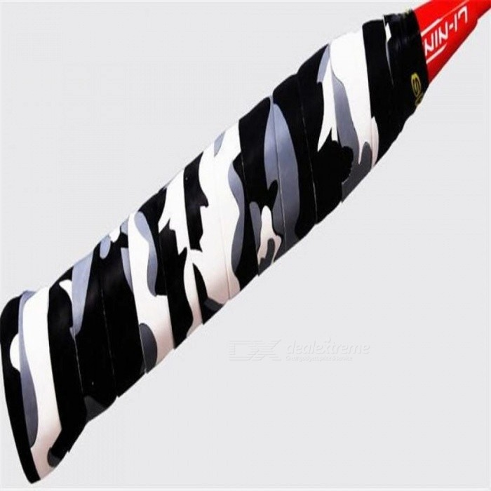 Racket Grip Anti Slip Perforated Super Absorbent Tennis Overgrip Badminton Overgrip Accessories For 4PCS