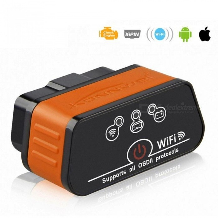 Wifi EML327 v1.5 Icar2 Auto Diagnostic Scanner OBD2 Wifi Auto scanner ODB II EML 327 for iPhone ELM 327 Automotive Scanner