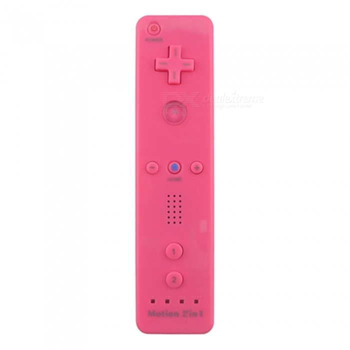 2 In 1 Built-In Motion Plus Remote Controller Gamepad for Nintendo Wii Console Game Multi Colors Optional