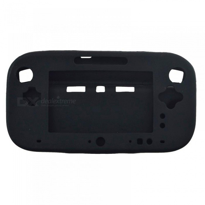 Ultra Soft Silicone Rubber Case For Wii U Body Protector Gel Cover Skin Shell for Nintendo Wii U Gamepad Accessories
