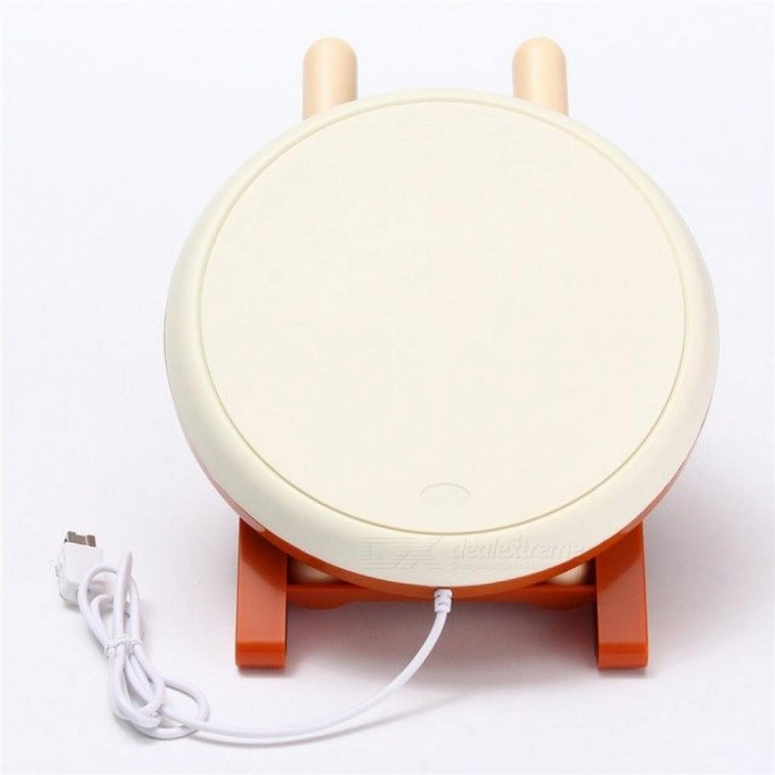 For Taiko No Tatsujin Video Game Drum Sticks Set for Nintendo for Wii Remote Controller Console Gaming  Accessories