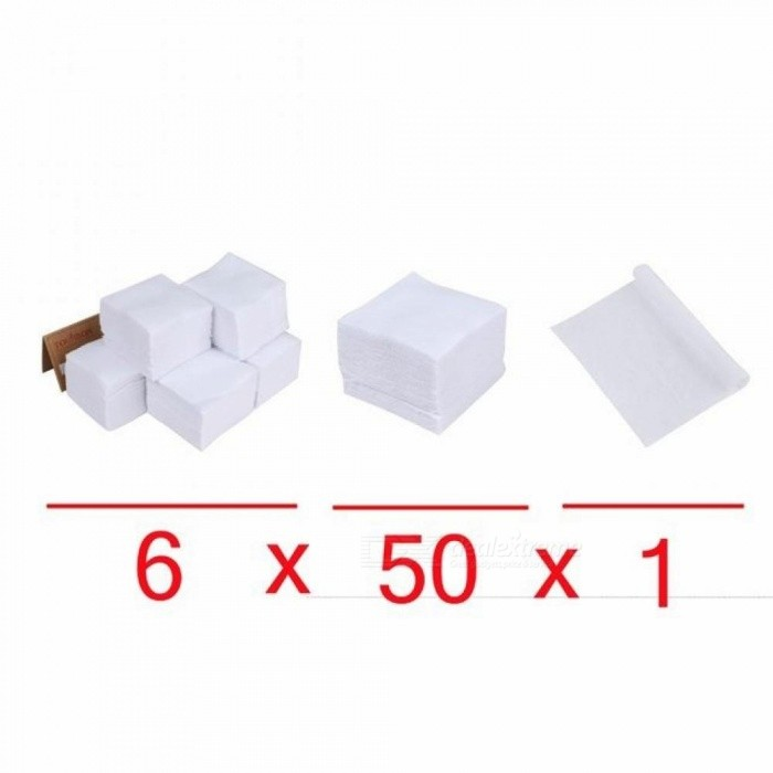 300PCS Cotton Material Gun Cleaning Patches For Pistol & Rifle 2-1/4