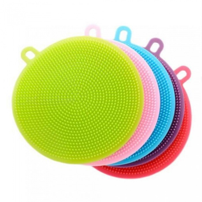 Multifunction Silicone Dish Bowl Magic Cleaning Brush Scouring Pad Pot Pan Wash Brushes Easy to clean Kitchen Cleaner  Tool