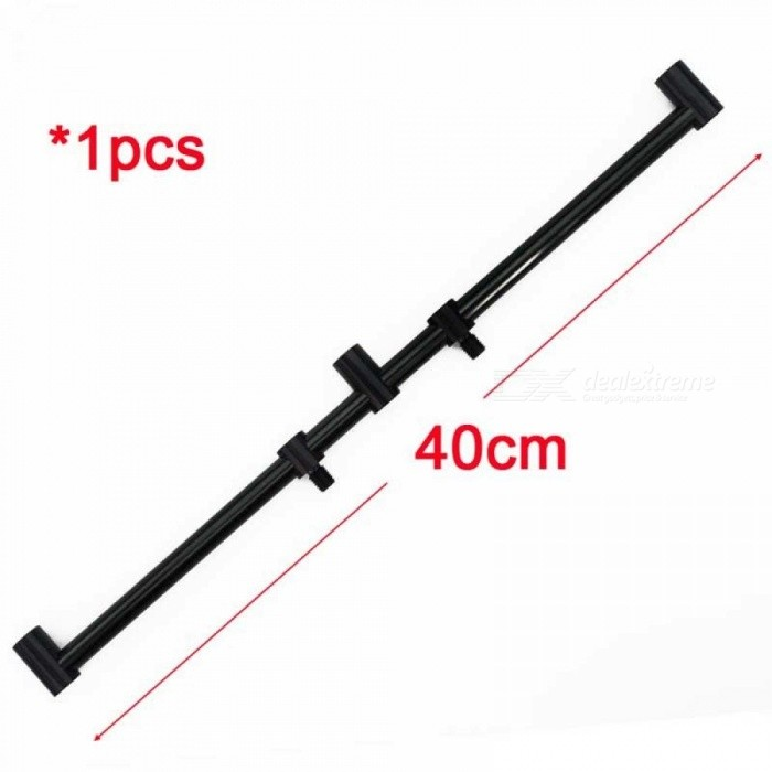 Carp Fishing Tackle Rod Pod Buzz Bars For 3 Fishing Rods Banksticks Holder Size For 40CM With Black Color