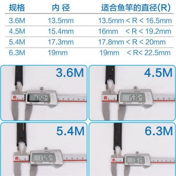 Fishing Coiling Plate Winding Board Lines Holder Rod Bobbin feet hand For 2.7M, 3.6M, 4.5M, 5.4M, 6.3M Pole   5PCS/Lot