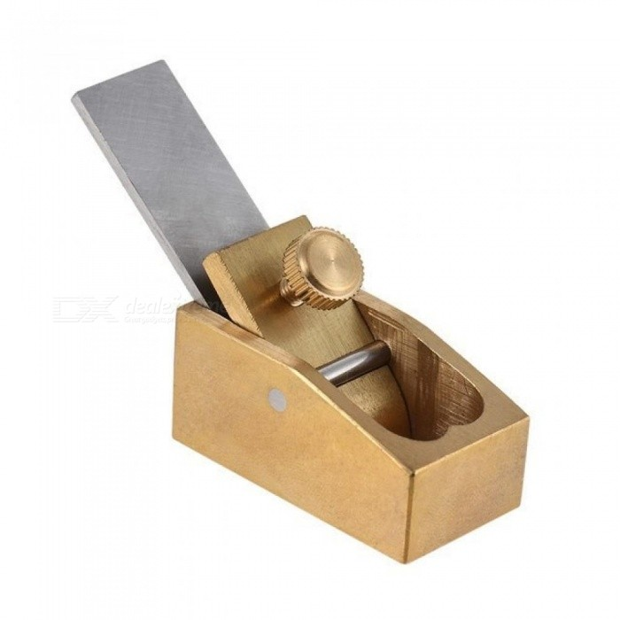 Convex Curved Sole Woodworking Plane Cutter Brass Luthier Tool For