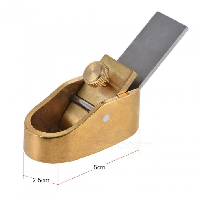 Convex Curved Sole Woodworking Plane Cutter Brass Luthier Tool for Violin Viola Cello Wooden Instrument