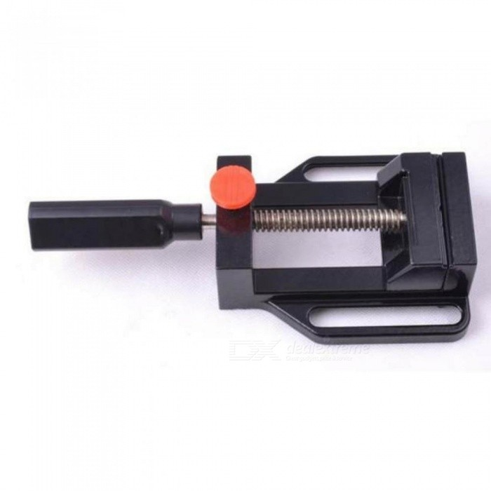 Mini Vise Aluminum Drill Press Vise Rotate Hand Tools Quick Release Mechanical Clamp, Quick-release Mechanism