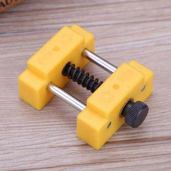 Mini carving bench clamp drill press vice micro clip flat vise