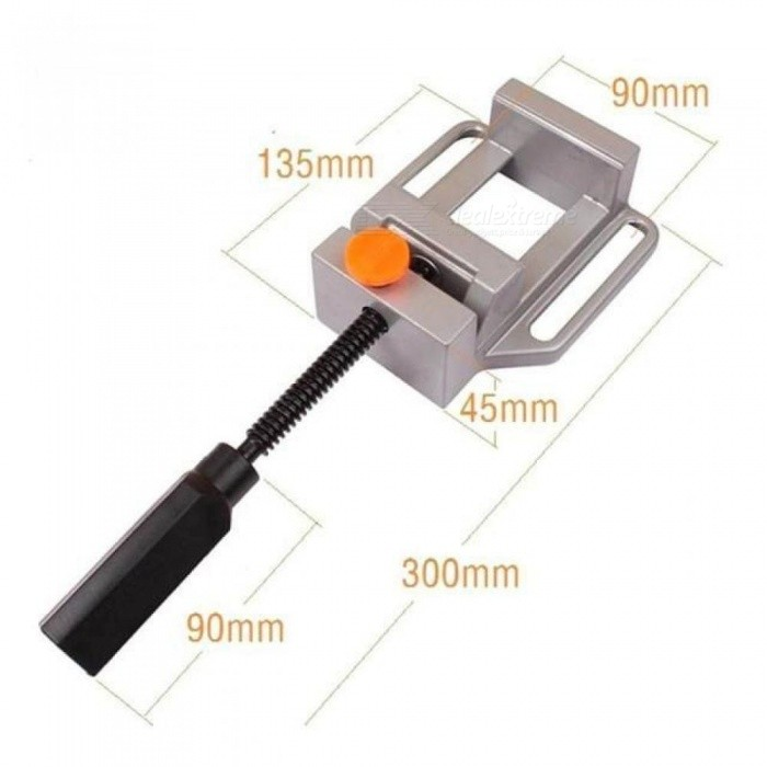 Mini Mechanical Working Tool bench Aluminum Drill Press Rotate Quick Release Mechanical Clamp Hand Tools