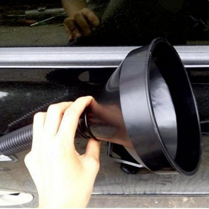 Universal Car Truck Motorcycle Filled Plastic Vehicle Funnels With Soft Spout Pipe Pour Oil Tool Diesel Gasoline Car Tool 5.23