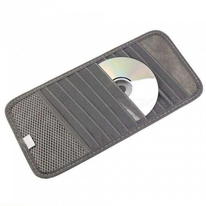 12 Disc CAR-partment Auto Car CD DVD Sun Visor Card Case Storage Holder Clipper Bag With Multicolor Optional