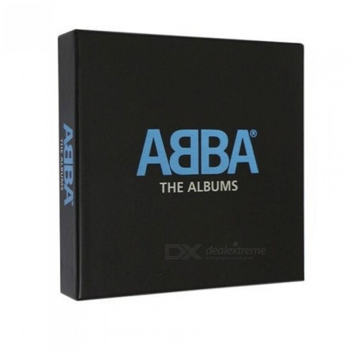 ABBA -The Albums Box Set 9CD Music CD Box Set Collection  With Black Color CD Case Quantity For 1 Pieces