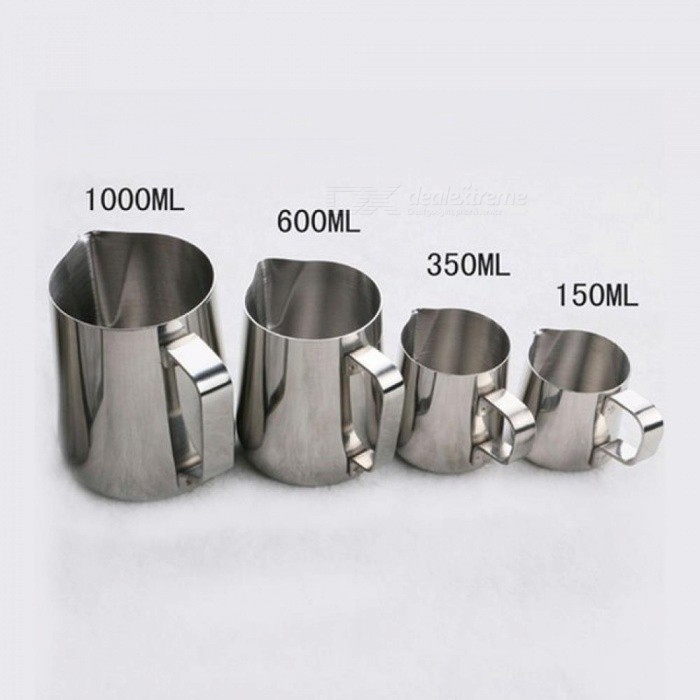 Stainless Steel Milk Frothing Jug Espresso Coffee Mug Pitcher Barista Craft Coffee Cappuccino Cups Latte Pot Kitchen Tool