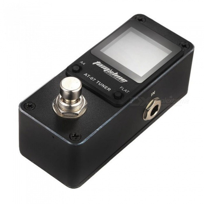 AT-07 Guitar Tuner Mini Single Guitar Effect Pedal Electric Effects High Quality Guitar Parts Accessories