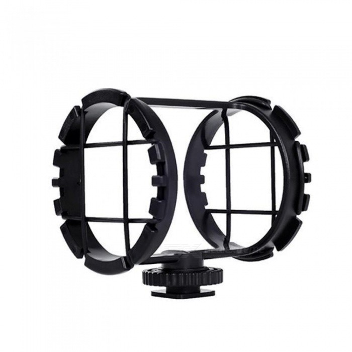 BY-C03 Professional Microphone Shock Mount for BY-VM300PS BY-V02 40mm-48mm Mic on DSLR Camera Camcorder Zoom H1 Cold Shoe