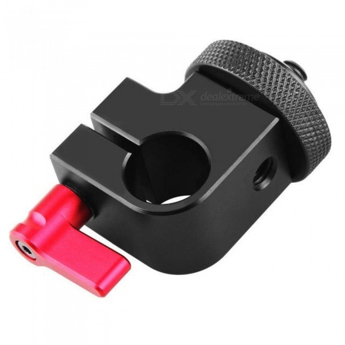 SmallRig DSLR Rig System 15mm Rod Clamp With 1/4 Thread Hole To Attach Camera Microphones/Sound Recorders