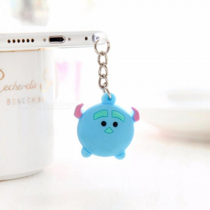 CatXaa Cute 3.5mm Headphone Dust Plug Music Port Cartoon AUX Audio 3.5 Stopper for Iphone 5 6 Xiaomi PC Latop Notebook Stopple