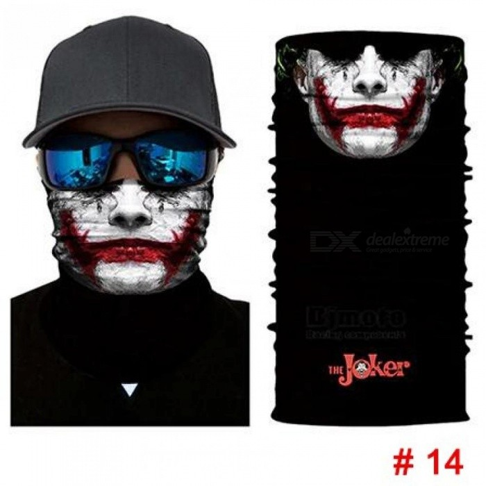 Halloween Scarf Mask Festival Motorcycle Face Shield Sun Mask Balaclava Party Masks Festive Supplies Masquerade Mask