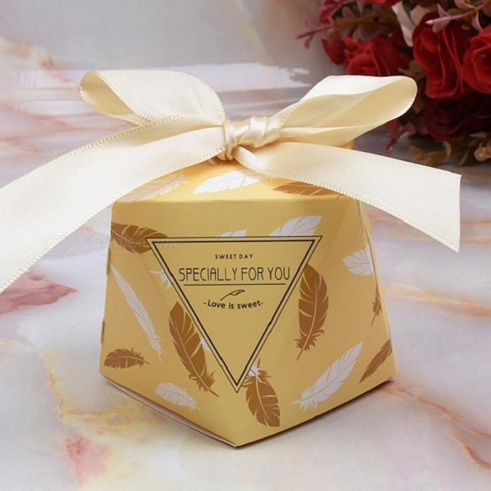 Multicolor Wedding Favor Box And Bags Sweet Gift Candy Bo For Baby Shower Birthday Guests