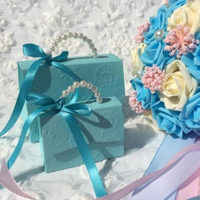 Portable Party Wedding Favor Candy Boxes Baby Shower Gift Bag Diy